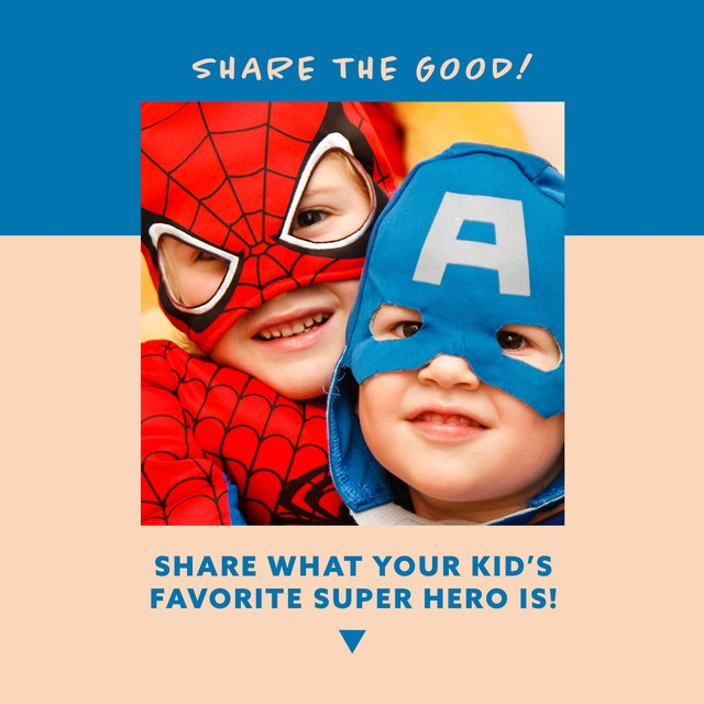 Share the Good - Superhero
