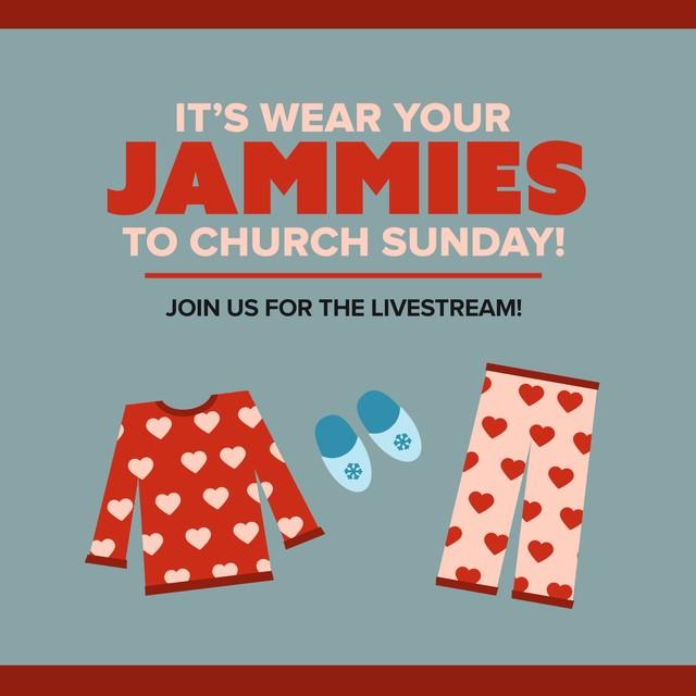 Jammies Sunday