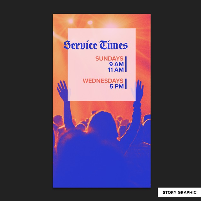 Service Times Stories-Sized