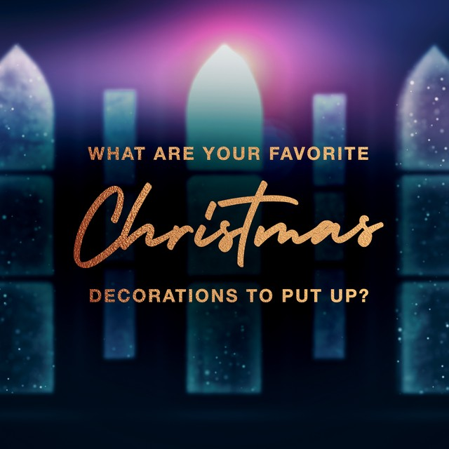 Christmas Decor Question