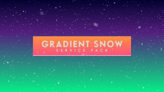 Gradient Snow
