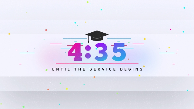 Colorful Graduation Countdown