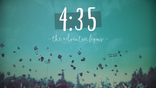 Graduation Adventure Countdown