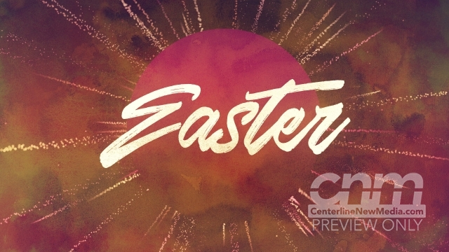 Particle Rays Easter Title Still