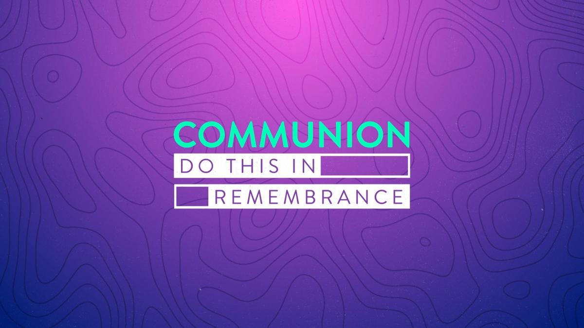 Topo Lines Communion