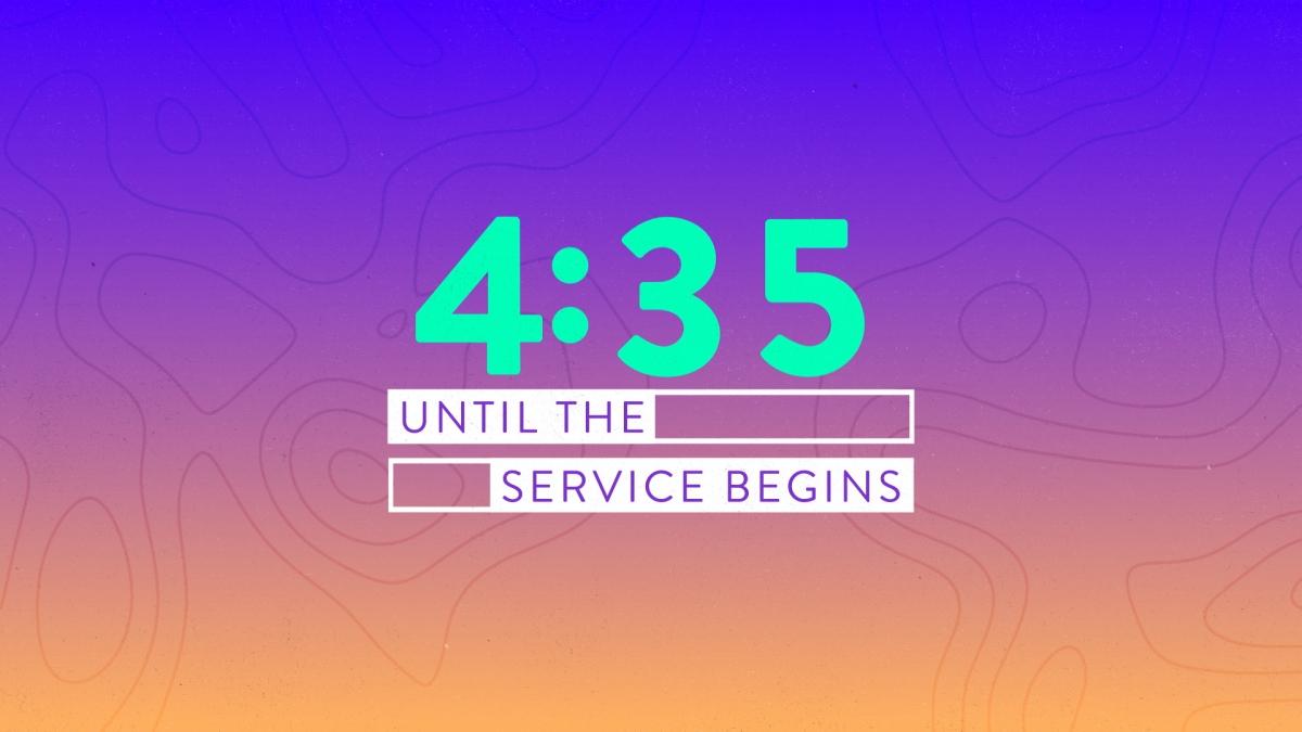 Topo Lines Countdown 02
