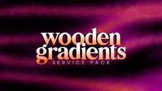 Wooden Gradients