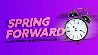 Spring Forward Sermon