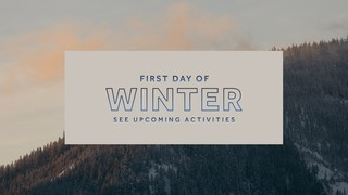 First Day of Winter Sermon