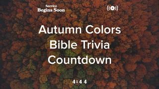 Autumn Colors Trivia Countdown