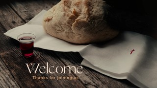 Bread And Cup Welcome