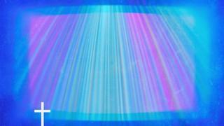 Chromatic Light Blue Light Cross