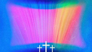 Chromatic Light Color Flare Cross