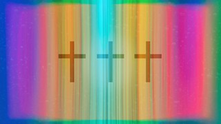 Chromatic Light Spectrum Cross