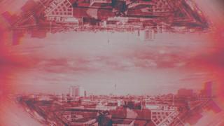 Cityscapes Rust Mirror