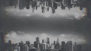 Cityscapes Silver Mirror