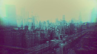 Cityscapes Turquoise