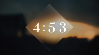 Coastal Dusk Countdown