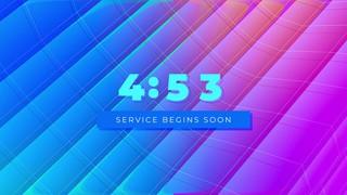 Color Planes Countdown