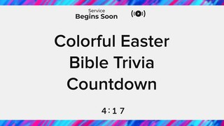 Colorful Easter Trivia Countdown