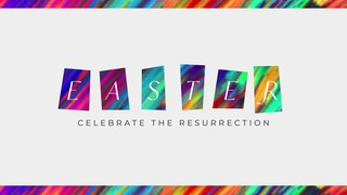 Colorful Easter Title