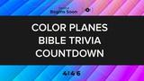 Color Planes Trivia Countdown
