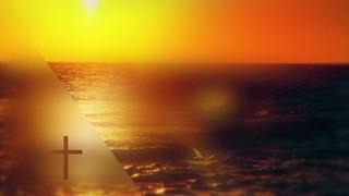 Days End Golden Ocean Cross