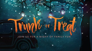 Trunk Or Treat Sermon