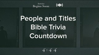 Filter Frames Trivia Countdown