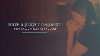 Prayer Request Slide Sermon