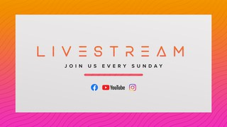 Livestream Sundays Sermon