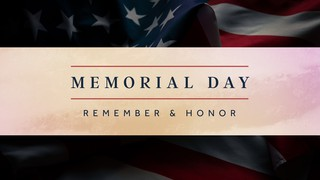 Memorial Day Honor Sermon