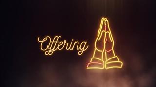 Neon Prayer Offering