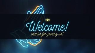 Neon Prayer Welcome Stream