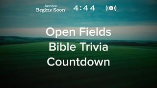 Open Fields Trivia Countdown