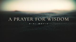 A Prayer Prayer for Wisdom