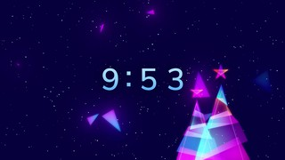 Retro Christmas 10 Min Countdown