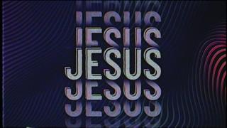 Retro Wave Jesus Lo Fi