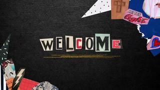 Scrapbook Welcome