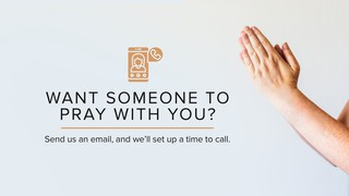 Pray With You Sermon