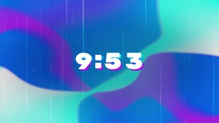 Soft Gradients 10 Min Countdown