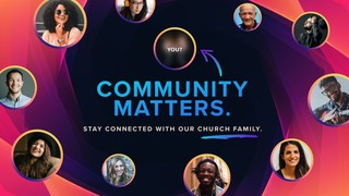 Your Community Matters Sermon