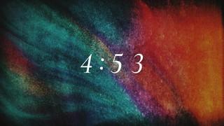 Subtle Color Countdown