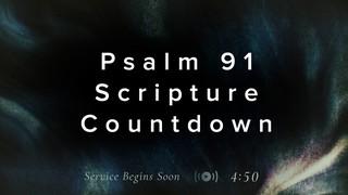 Subtle Color Scripture Countdown
