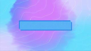 Summer Vibes Purple Blue Box