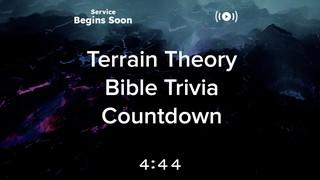 Terrain Theory Trivia Countdown