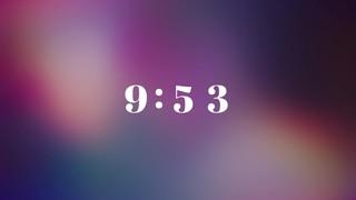 Vibrant Crosses 10 Min Countdown