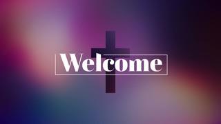 Vibrant Crosses Welcome