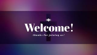 Vibrant Crosses Welcome Stream