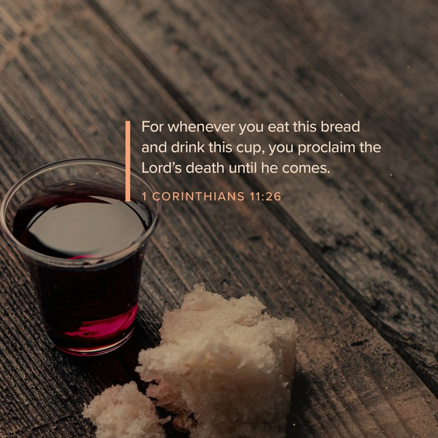 1 Corinthians 11:26